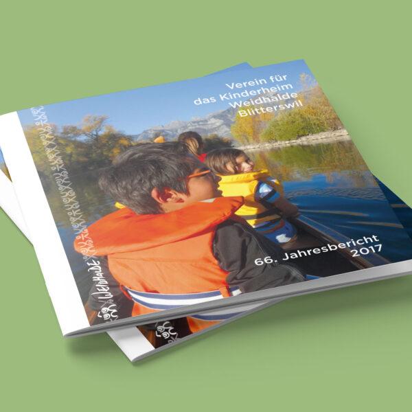 Jahresbericht Kinderheim Weidhalde